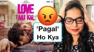 Love Aaj Kal Trailer REVIEW | Deeksha Sharma