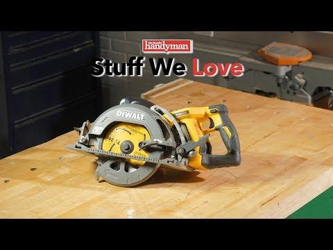 Stuff We Love: Dewalt 60V Max Rear Handle Worm Drive Style Circular Saw