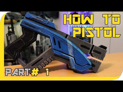 HOW TO:  Mass Effect Andromeda Predator pistol Cosplay Prop - Part 1