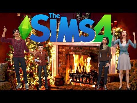 The Sims 4 | Create a Sim: Christmas Day [2]