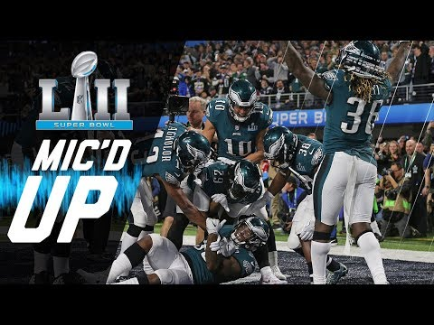 Eagles vs. Patriots Mic'd Up