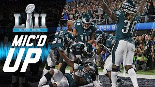 Eagles vs. Patriots Mic