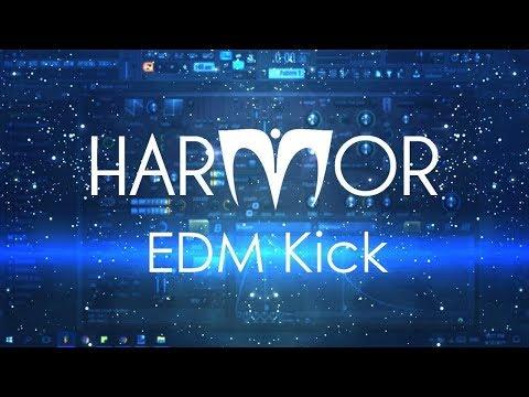 How to make an EDM kick in Harmor | FL Studio Tutorial