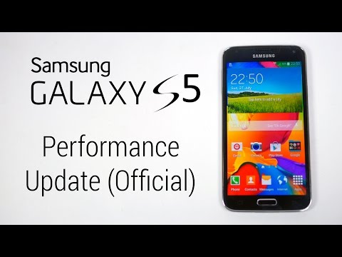 Galaxy S5 SM-G900H (Exynos) Official Performance Update - How to install