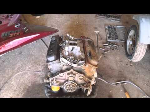 The making of the V8 jetski
