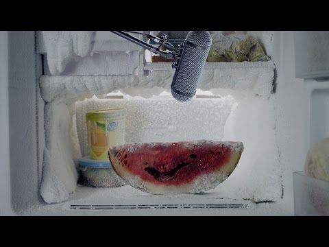 ABANDONED WATERMELON  MORPHS INTO ICE-MELON