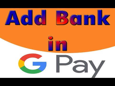 Add bank account in Google Pay app