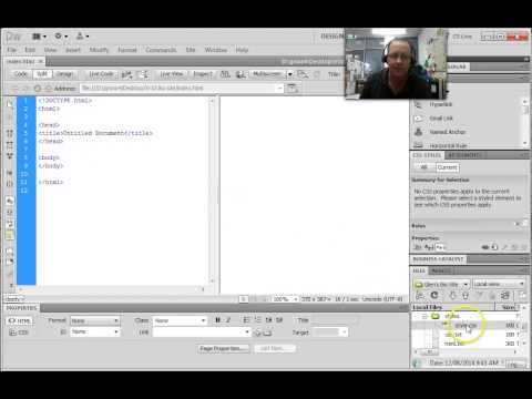Dreamweaver - attaching a CSS file