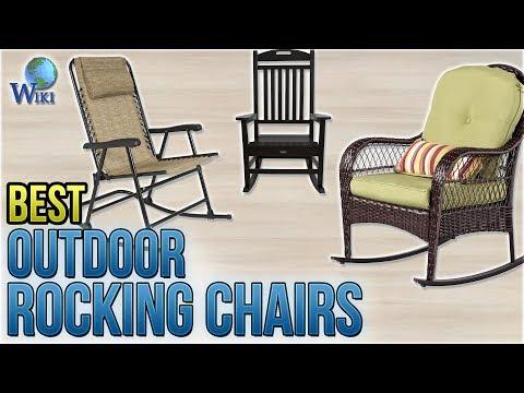 10 Best Outdoor Rocking Chairs 2018