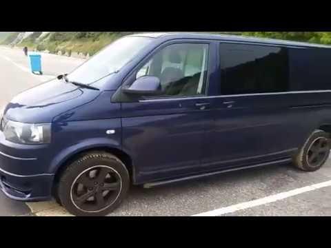 VW T5.1 Kombi T32 180 DSG Walkaround @ Bournemouth Beach