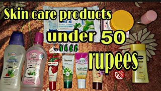 Skin care products under 50 rupees..