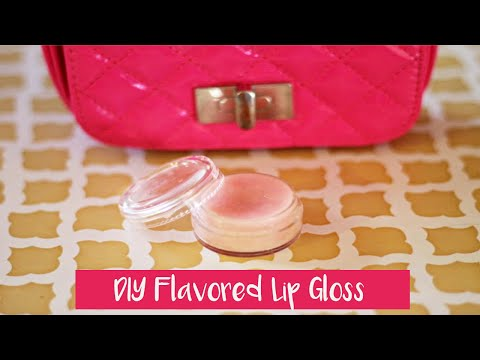 MAKE YOUR OWN *DIY Flavored Lip Gloss*