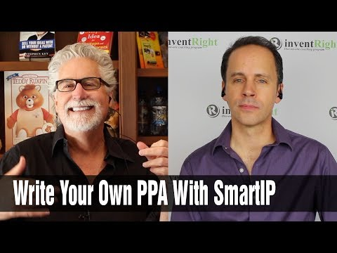 Write Your Own Provisional Patent Application with SmartIP by inventRight