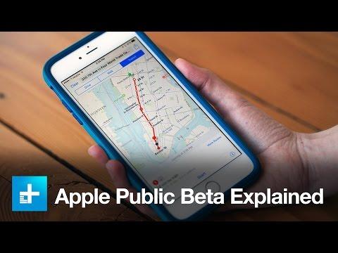 Apple iOS9 Public Beta - Explained