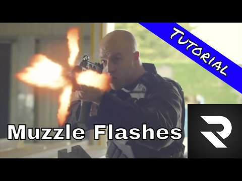 How to add realistic muzzle flashes in iMovie!