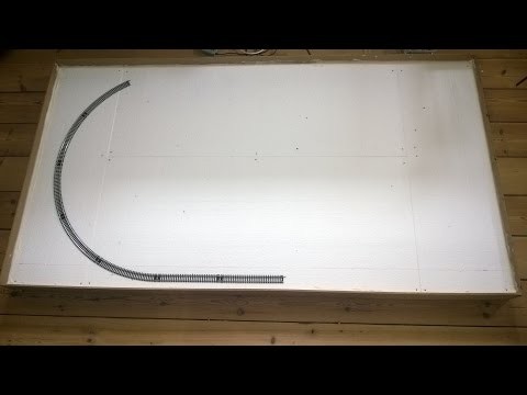 Model Train Layout - Project low cost/low weight Part 1: Basic Structure, DC H0 Scale