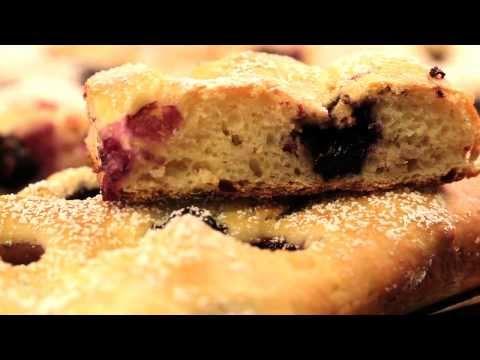 Blueberry Focaccia Bread Recipe