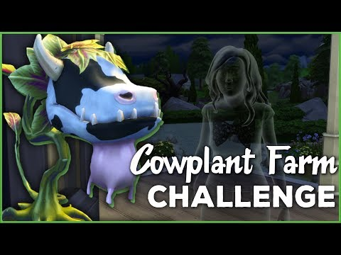 The Farmhouse is Haunted!! 🐄🌱 Sims 4 Cowplant Farm: Episode #2