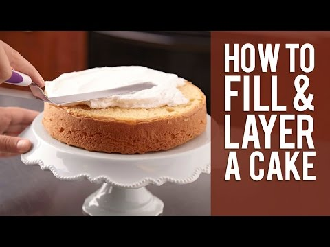 How to Fill and Layer a Cake from Wilton