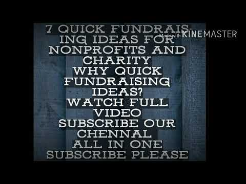 Fund raising ideas for any NGO