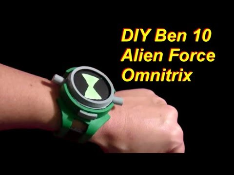 Ben 10 Alien Force Omnitrix DIY
