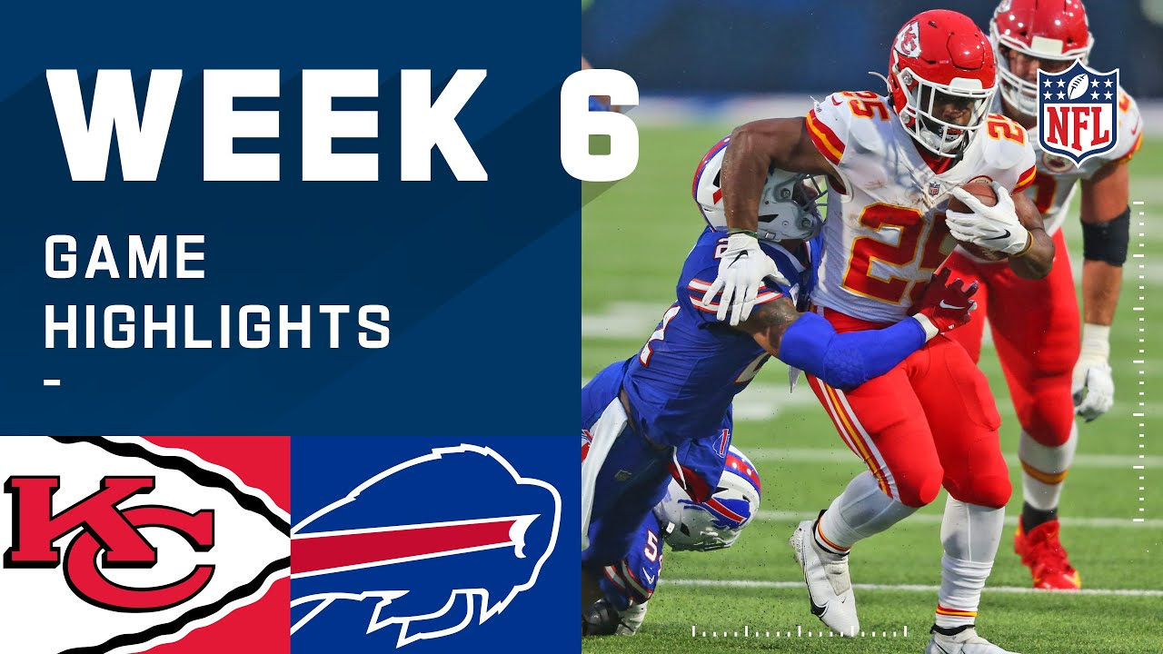 Chiefs vs. Bills Week 6 Highlights | NFL 2020