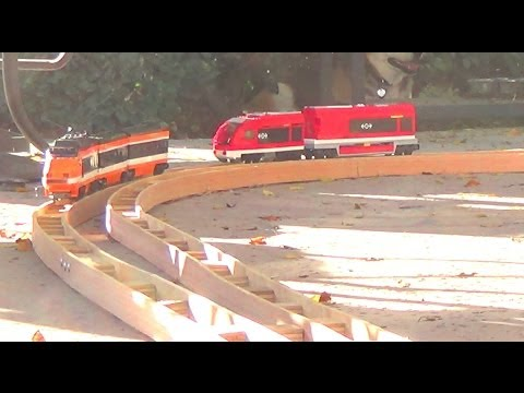 How we built curved tracks for LEGO trains