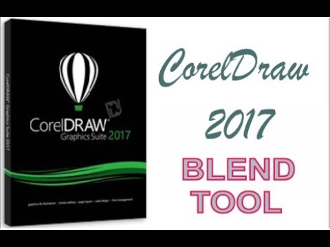COREL DRAW 2017 USING BLEND TOOL HINDI URDU PART 33
