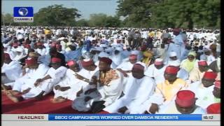 Emir Of Kano Leads Eid Prayer As Muslims Pray For National Security