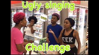 The Ugly Singing Challenge Public Prank