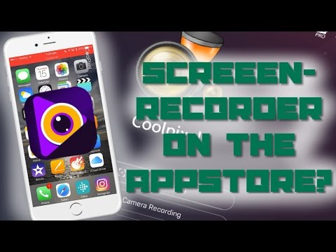 SCREEN-RECORDER ON THE APPSTORE!! | CoolPixel iOS Screen-Recorder Tutorial | iOS 8+ Tutorial