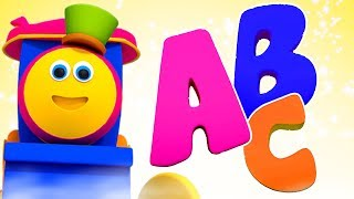 Abc Song   Bob The Train Cartoons   Learning Videos For Kids