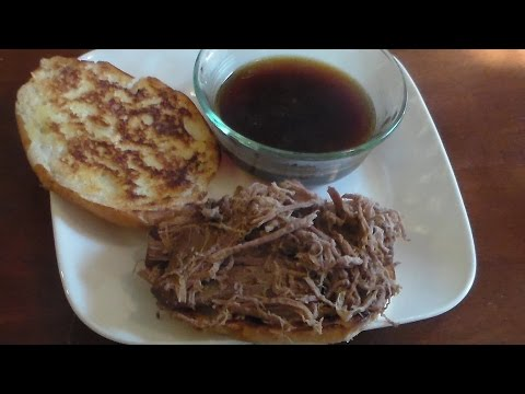 Pressure Cooker Beef Dip Sandwiches