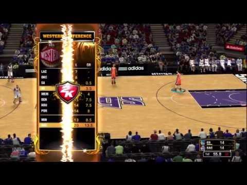 NBA 2K13 online quick match