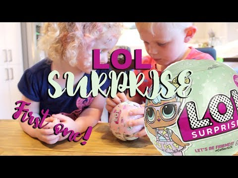 THEIR FIRST LOL SURPRISE!