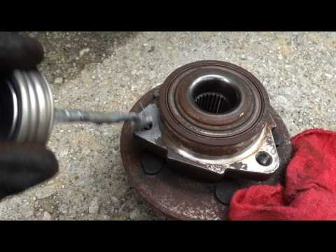 How To Replace  Wheel Bearing / 2007 Explorer all Wheel Drive