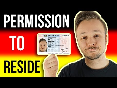 How To Get Your Aufenthaltserlaubnis In Germany 🇩🇪 The Residency Permit For Deutschland 📬