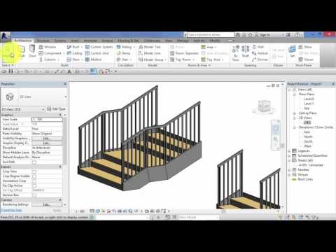Module 4: Unit 13: Revit Architecture: Stair by Sketch