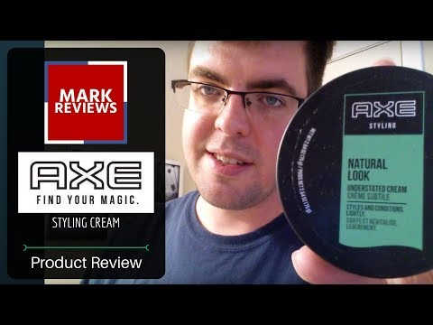 REVIEW - Axe Hair Styling Cream