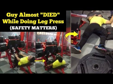 SHOCKING LEG PRESS ACCIDENT | Addressing FitMuscle Tv