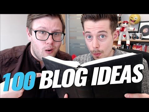 How to Come up with Blog Post Ideas (100 ideas in 5 mins)