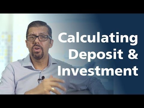How do you calculate your deposit and investment when buying an investment property?