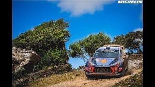 Highlights - 2018 WRC Rally Italia Sardegna  - Michelin Motorsport