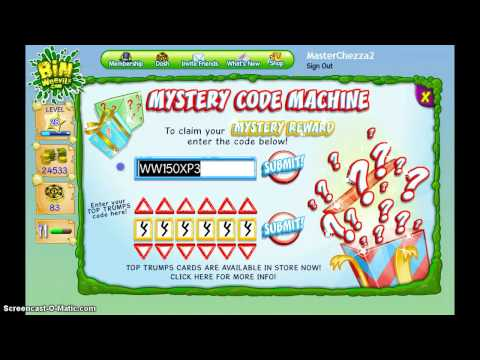 Bin Weevils - XP and Mulch Codes May 2013