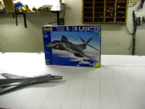 how to build a rc jet B1B from scratch #1