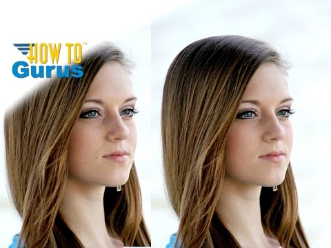 How To Edit a Portrait using Frequency Separation in Photoshop Elements 2018 15 14 13 12 11 Tutorial