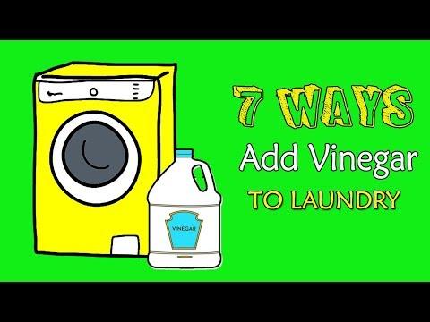 7 Ways to Add Vinegar to Laundry