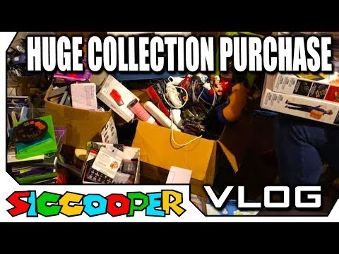 INSANELY HUGE VIDEO GAME COLLECTION PURCHASE!   SicCooper