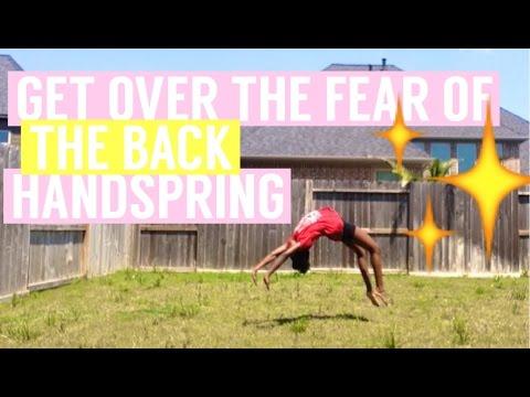 Back Handspring Fear Tips