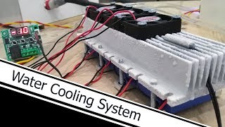 AWESOME IDEA HOW TO MAKE WATER COOLING SYSTEM (DIY)